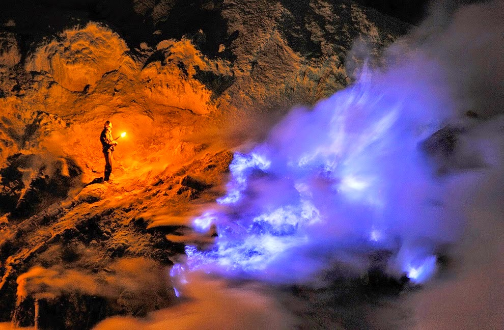 VOLCANO BLUE FIRE