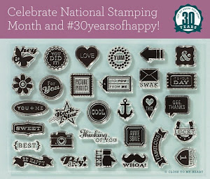 Celebrate National Stamping Month with a FREE stamp set!
