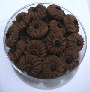 cara membuat kue kering coklat