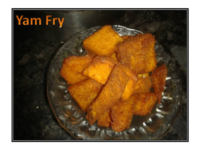 Simple Yam Fry
