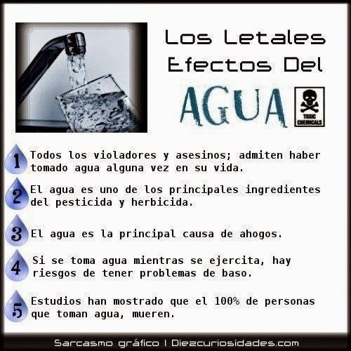 Los letales efectos del Agua