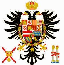 Versión reducida del escudo de Carlos V desde 1520