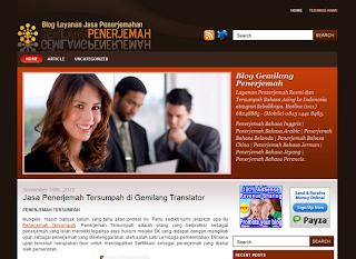 Blog Penerjemah Gemilang