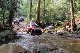 Outdoor attraction crosses streams