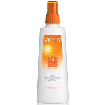 protector solar para el cuerpo en spray