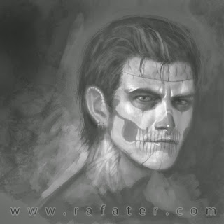 rafater skull face male
