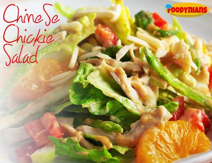 chinese-chicken-healthy salad-recipe