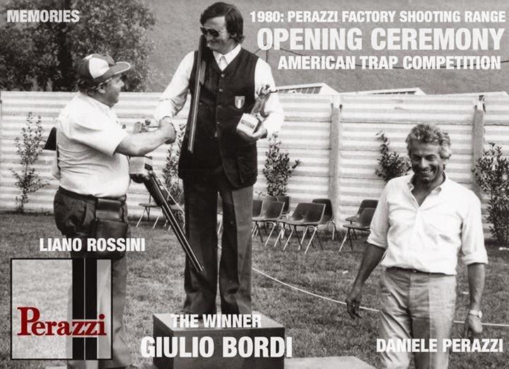 1980 Inaugurazione Campo da Trap Americano della PERAZZI (Clicca la foto per il video)