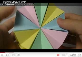 Оригами - Magic Circle