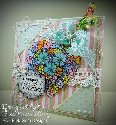 http://glitterandbonbons.blogspot.com/2013/07/floral-heart.html