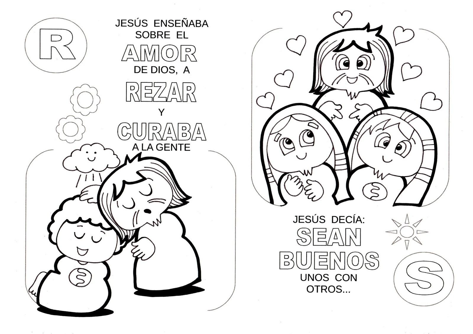 El Rincón de las Melli: La historia de Jesús con letras (para los ...