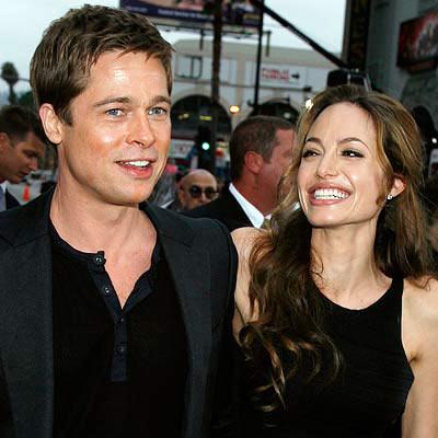 G C W: Brad Pitt and A...