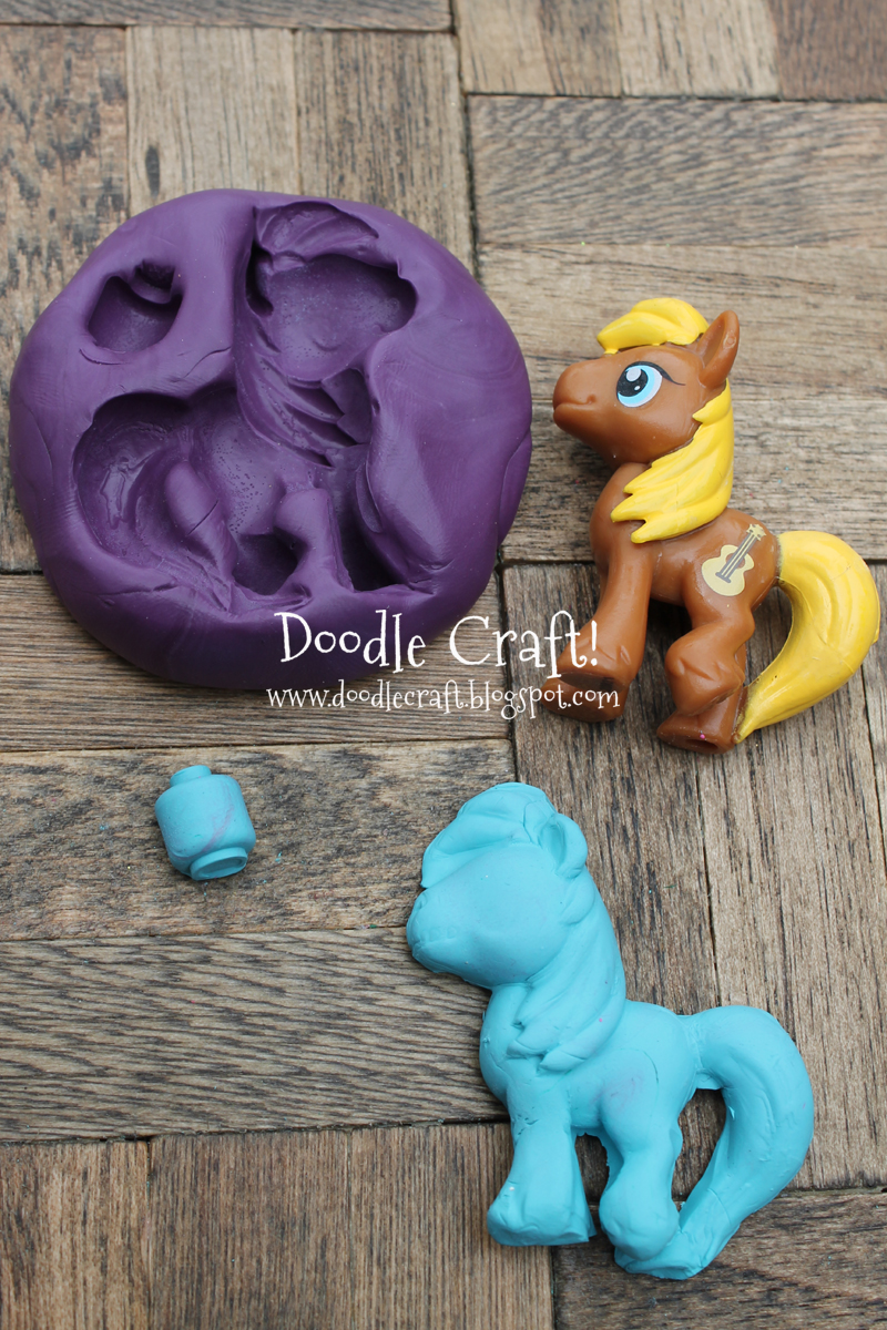 Doodlecraft make your own silicone cabochon molds for Cute things to make out of clay