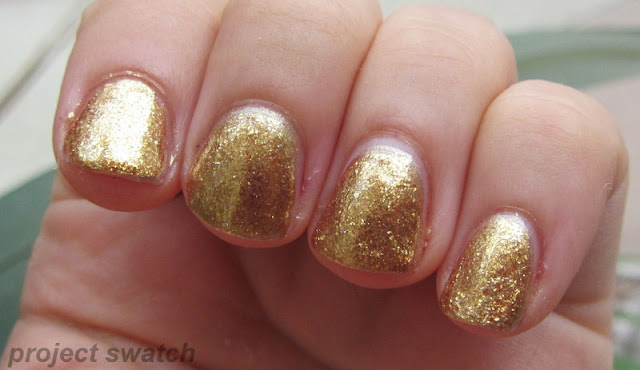 OPI Goldeneye swatch
