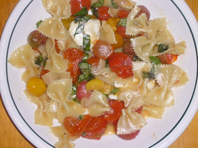 Heirloom Caprese Pasta