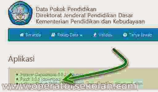 Aplikasi Dapodikdas / Dapodik Patch v.3.0.3 (v.303) - Download link
