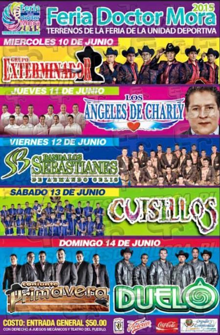 Cartel Feria Doctor Mora 2015