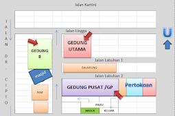 Denah Kampus USM UNISSULA IKIP PGRI Semarang