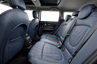 Mini Cooper S Clubman (2016) Rear Seats