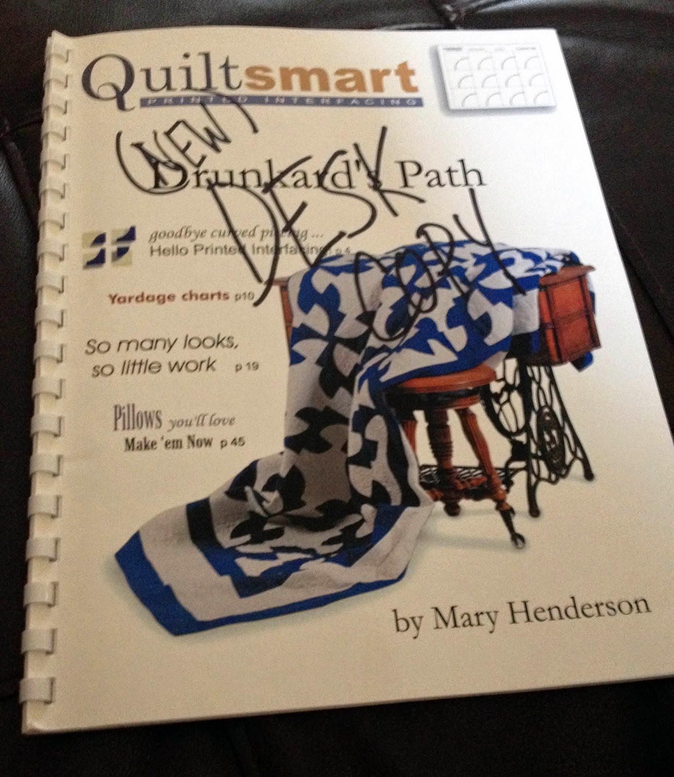 Quiltsmart Drunkard's Path Booklet