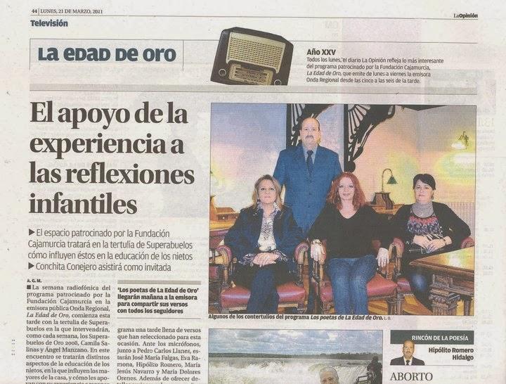 La Edad de Oro en La Opinión de Murcia