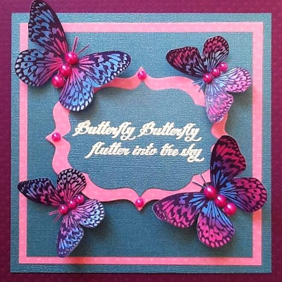 visible image stamps butterfly butterfly sentiment stamp