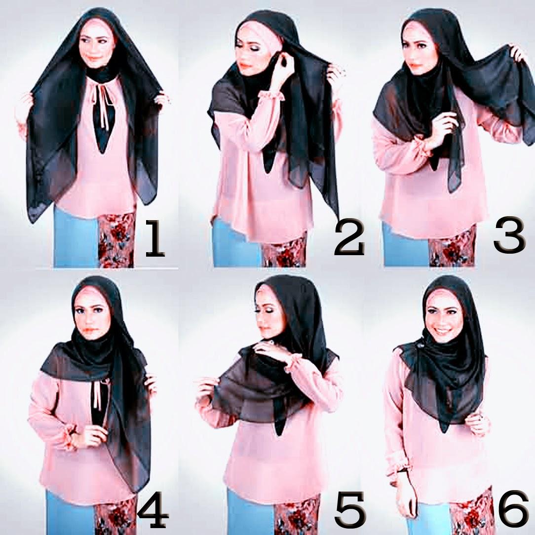 25 Galery Tutorial Hijab Pashmina Jenahara Paling Fenomenal