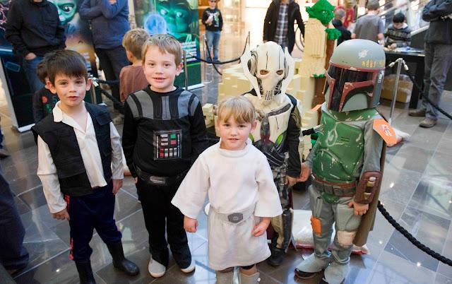 fans niños star wars