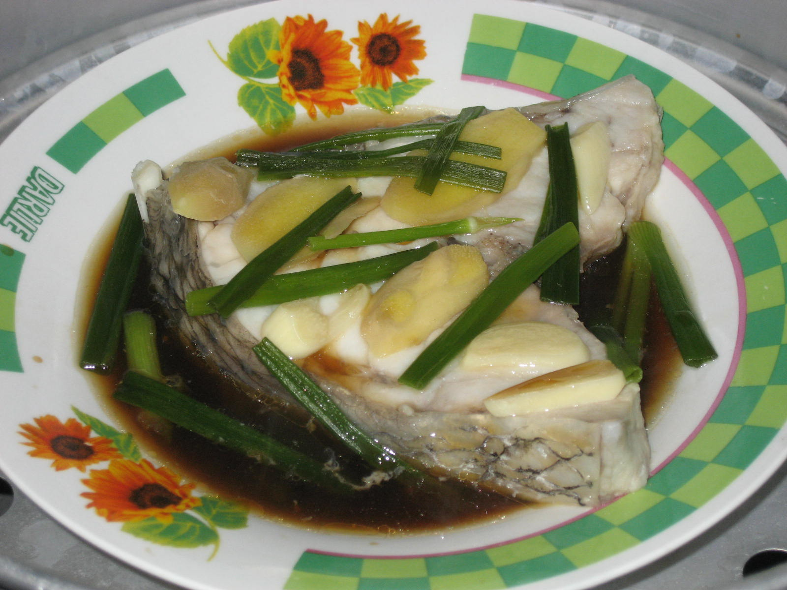 Belly good cooking soy sauce steamed fish for Soy sauce fish