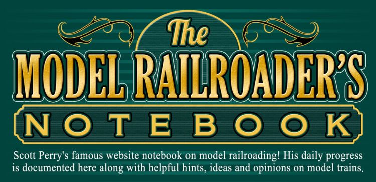 The Model Railroader's Notebook
