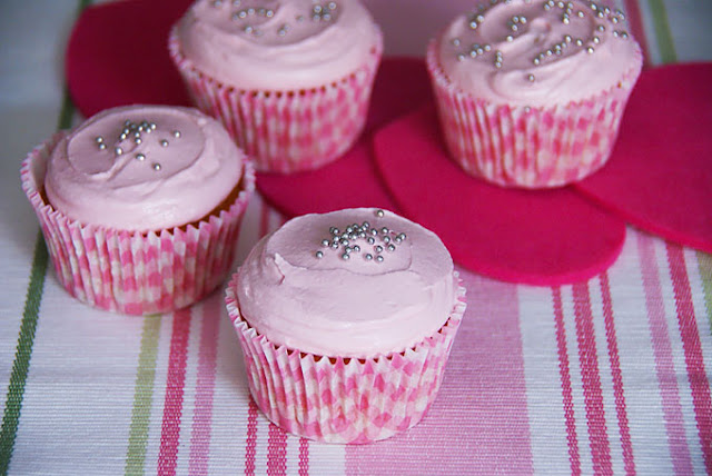 Cupcakes De Vainilla Y Nubes