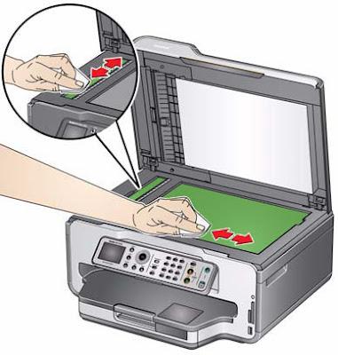 Как правильно чистить корпус принтера