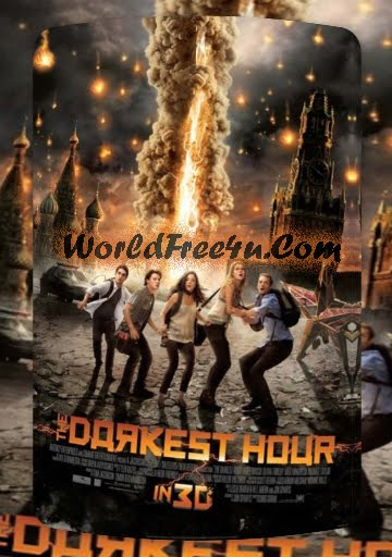Poster Of Hollywood Movie The Darkest Hour (2011) Free Download Full Movie In English Watch Online At worldfree4u.com