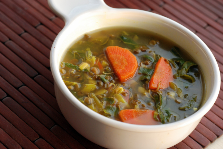 Kitchen: Ottolenghi's Herb, Chard, and Feta Soup for Souper (Soup ...