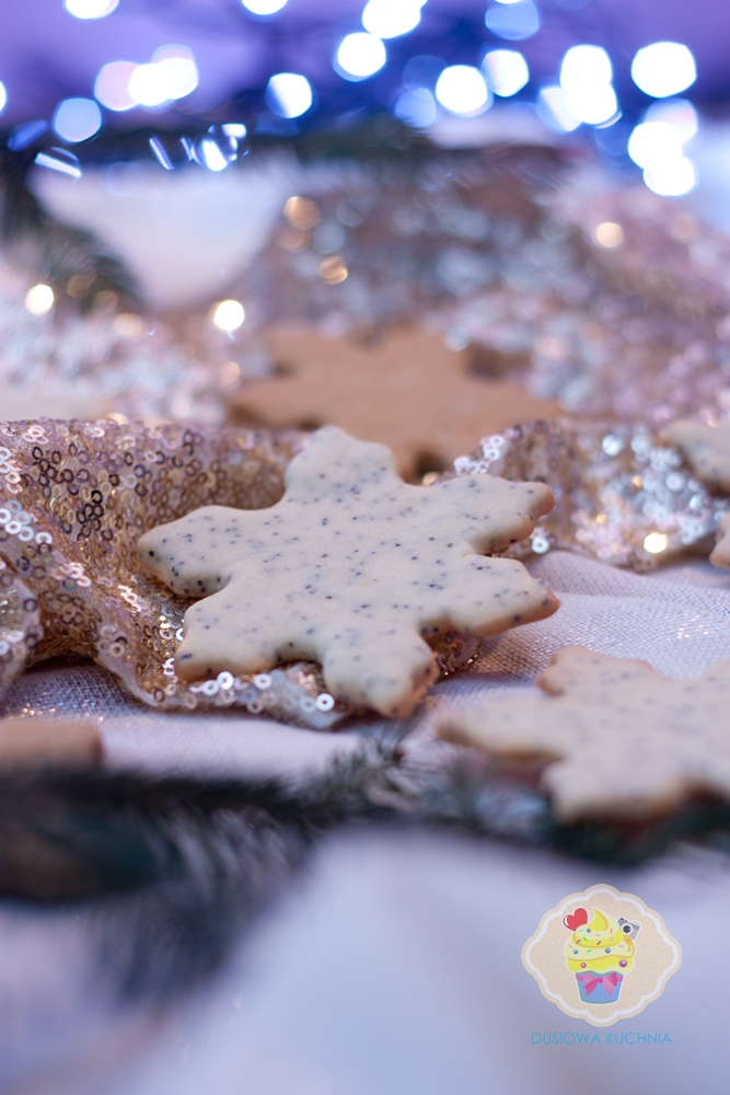 ciasteczka z makiem przepis, przepis na ciasteczka z makiem, ciasteczka świąteczne, ciasteczka makowe