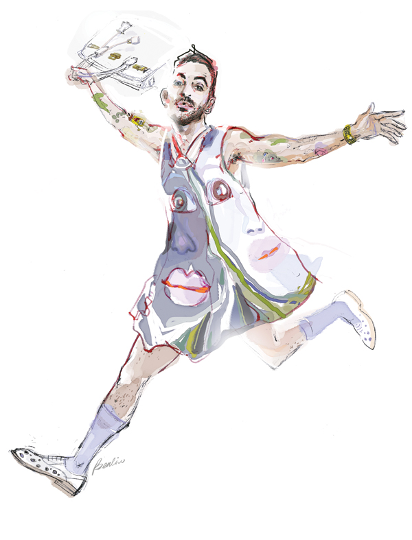 Marc Jacobs illustration