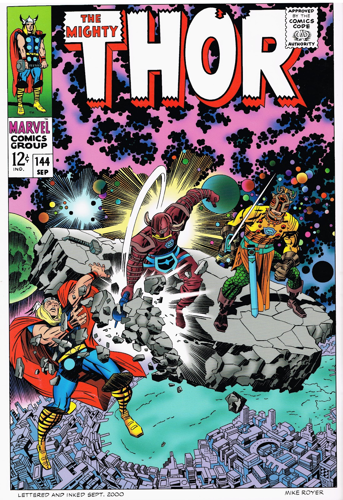 Posted by Cap n s Comics at 4 45 PMJack Kirby Cover