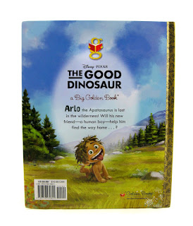 the good dinosaur big golden book