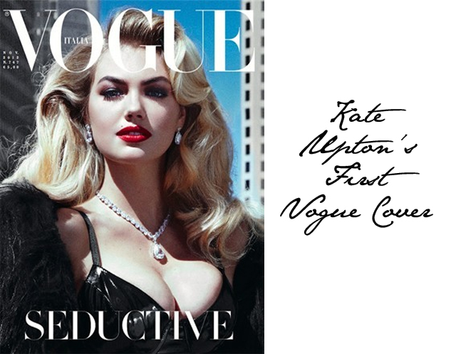 Kate Upton first vogue cover