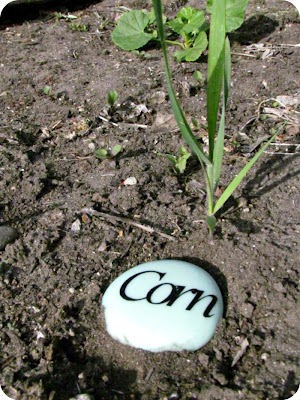 garden markers, garden tags, how to make plant markers, Silhouette vinyl craft