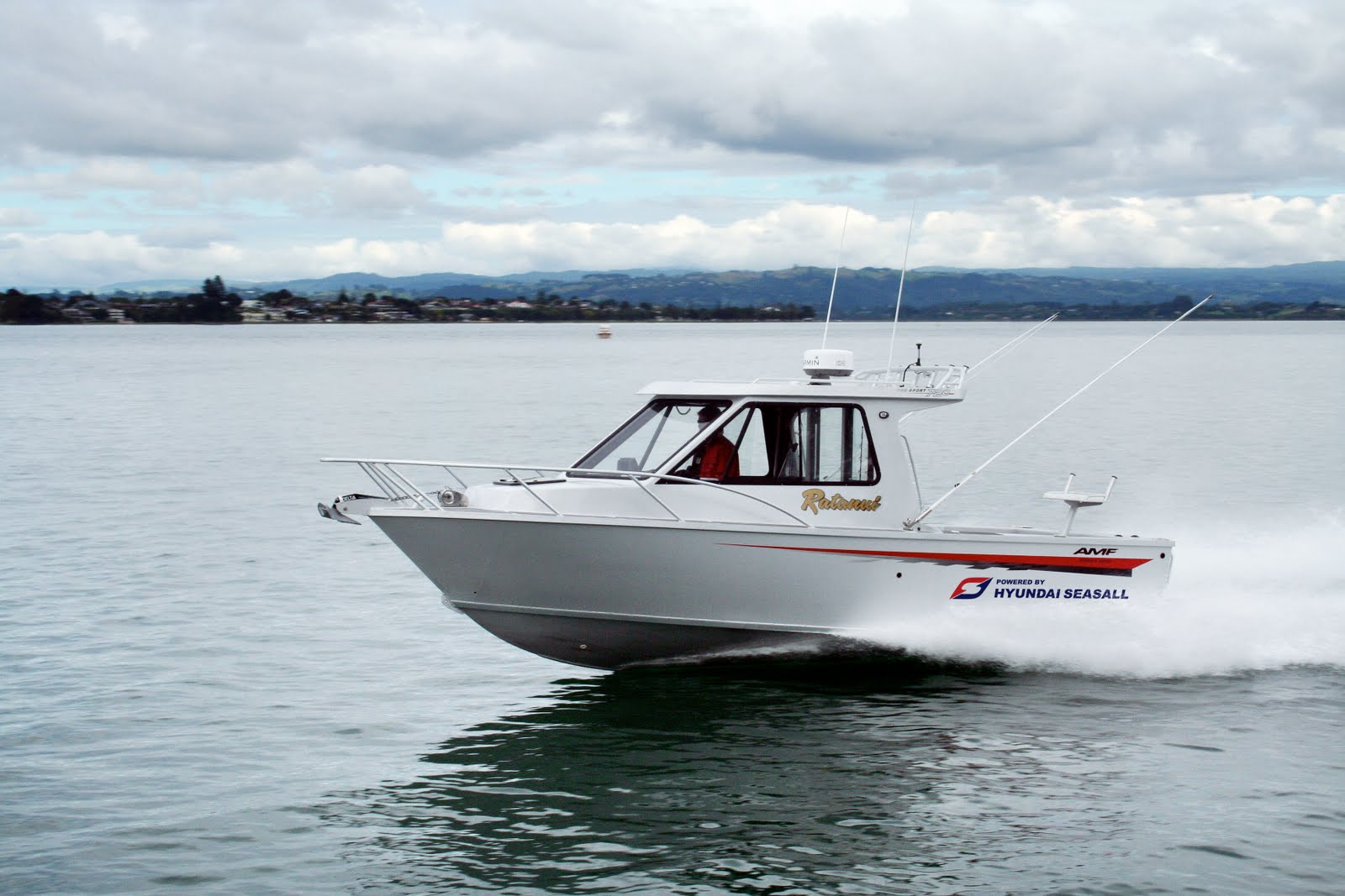 AMF Boats - Alloy Boat Builders: August 2011