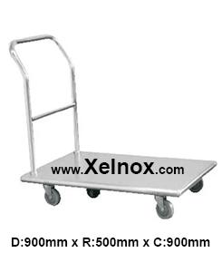 Xe đẩy inox XD959