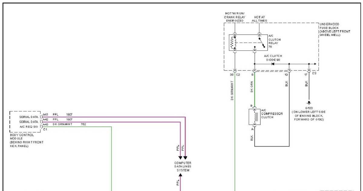 V Manual  2007 Hummer H3 Air Conditioning System Wiring