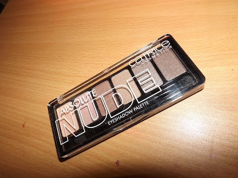 Absolute NUDE eyeshadow palette REVIEW