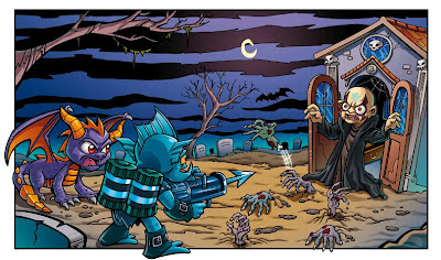 Skylanders, comic page