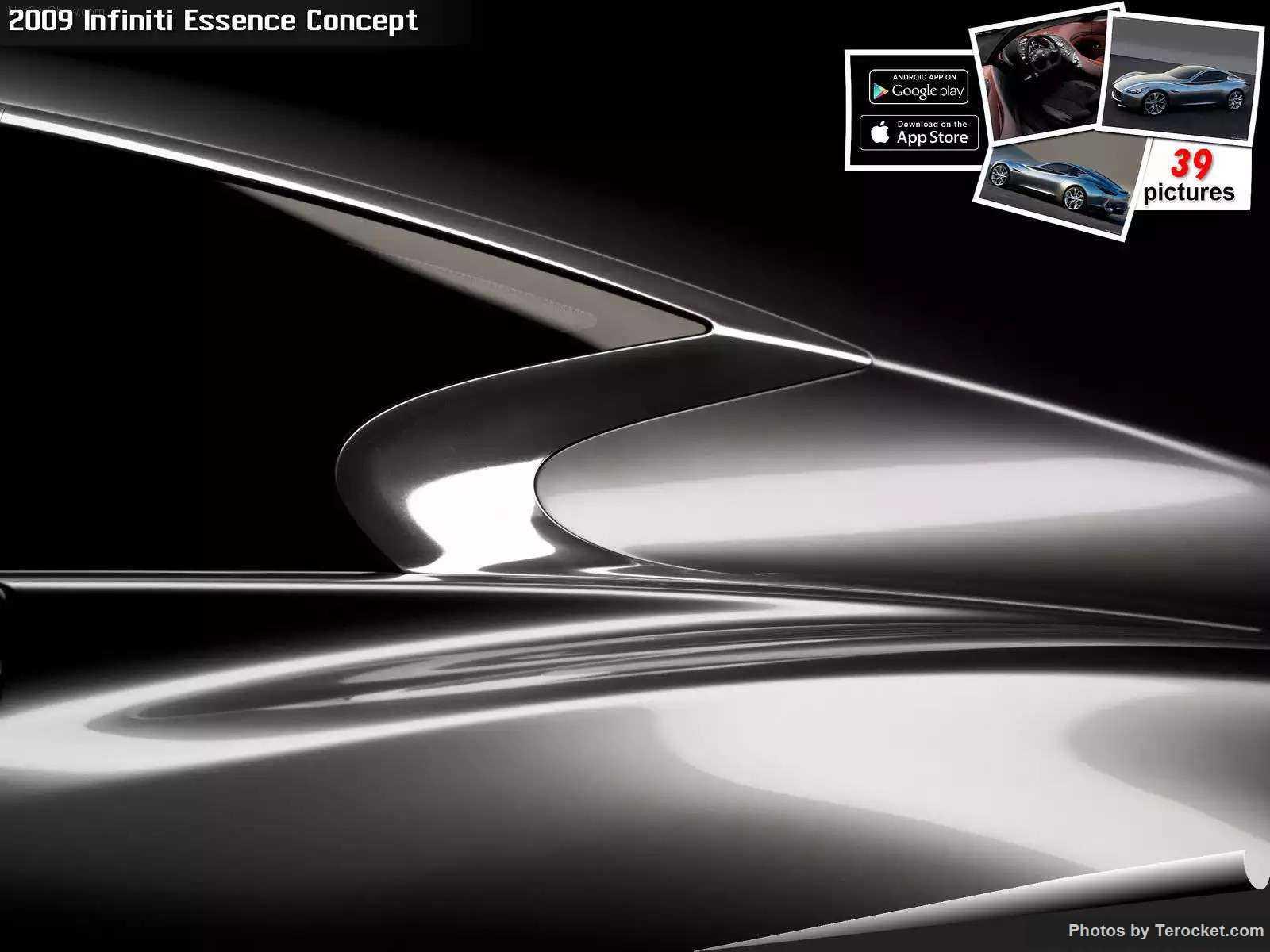 Hình ảnh xe ô tô Infiniti Essence Concept 2009 & nội ngoại thất