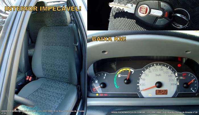 Fiat Palio 1.0 MPI Fire Economy Flex 4P 2010 - interior bancos