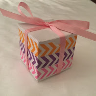 Party Favor Boxes with Washi