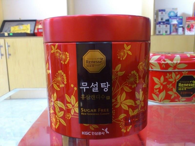 Kẹo Hồng Sâm Hàn Quốc không đường  - dacsanthiennhien.net