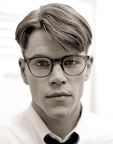 Miss spectacles july 2012 for Matt damon young